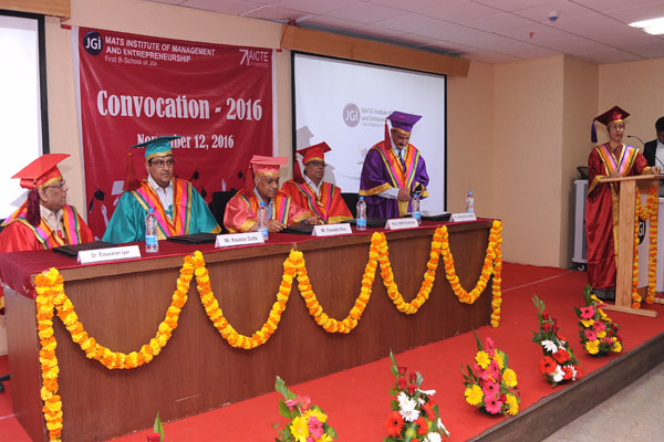 Convocation for PGDM Students at MIME