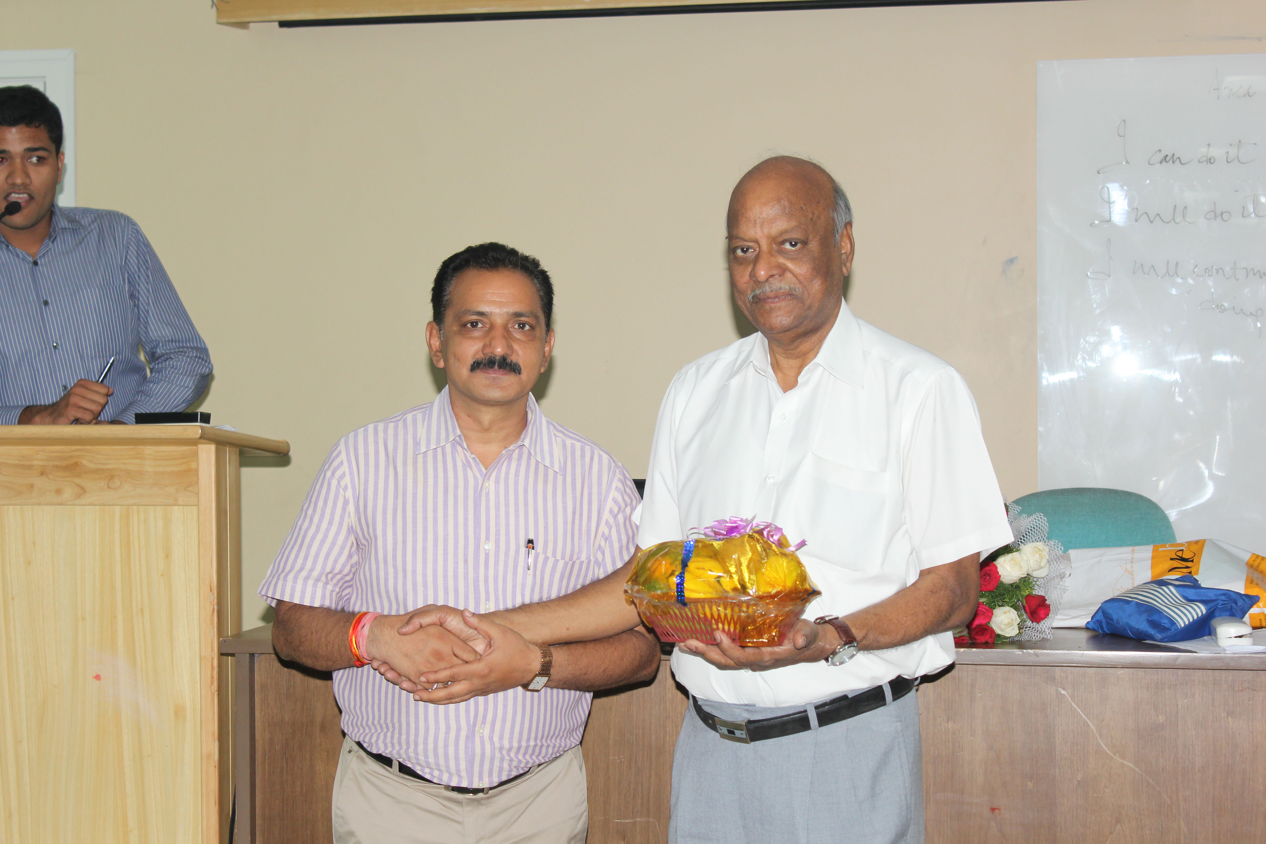 Workshop on Success in Life for PGDM Students