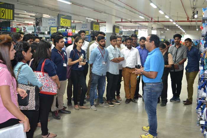 Industrial Visit of PGDM Students