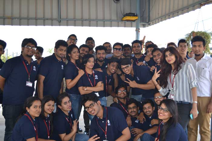 Industrial visit for PGDM students