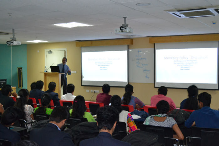 Interactive session for PGDM