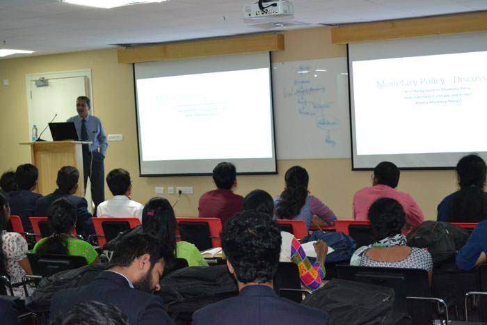 Interactive session for B School