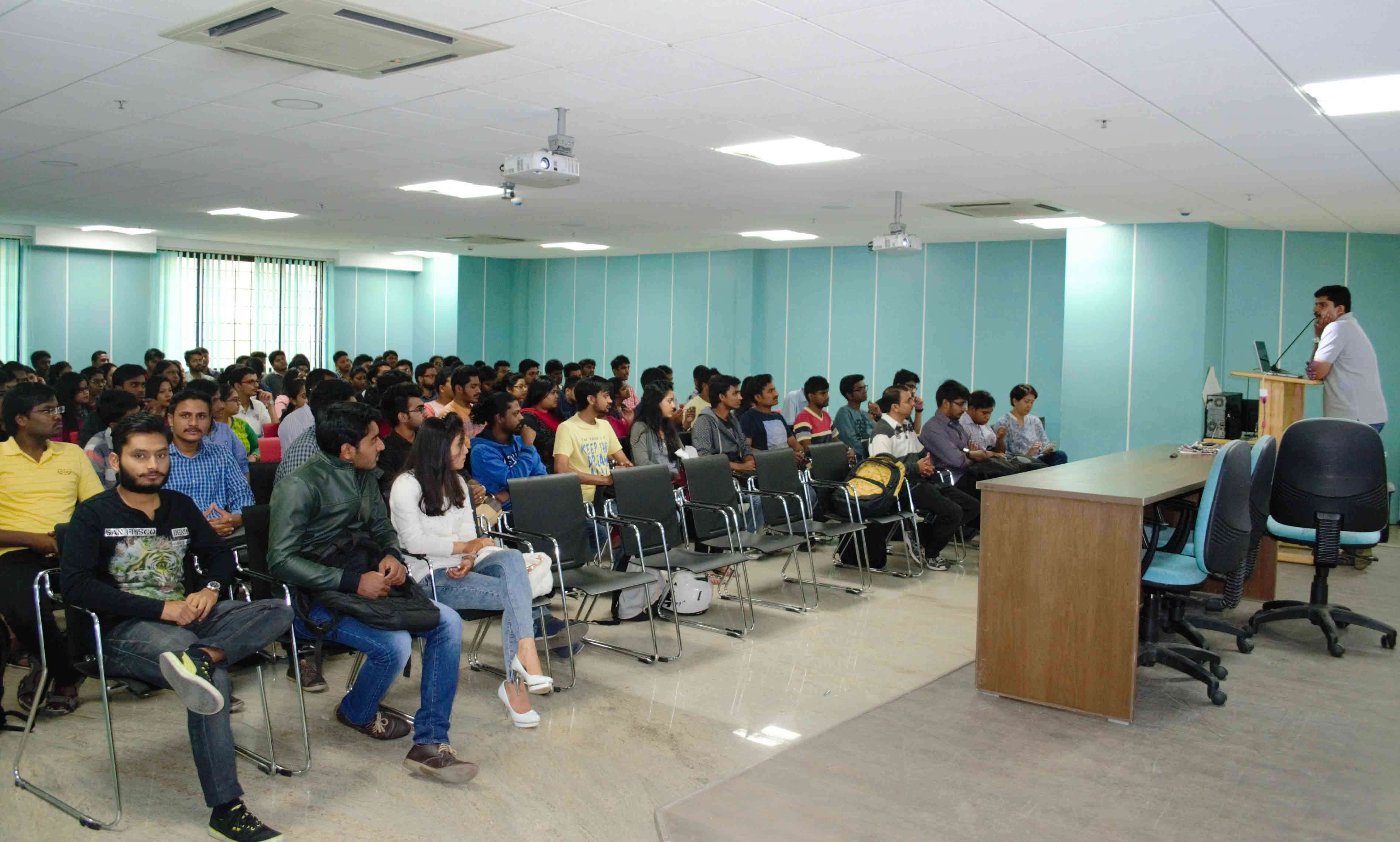 PGDM Students at talk on Wealth Management and Mutual Funds
