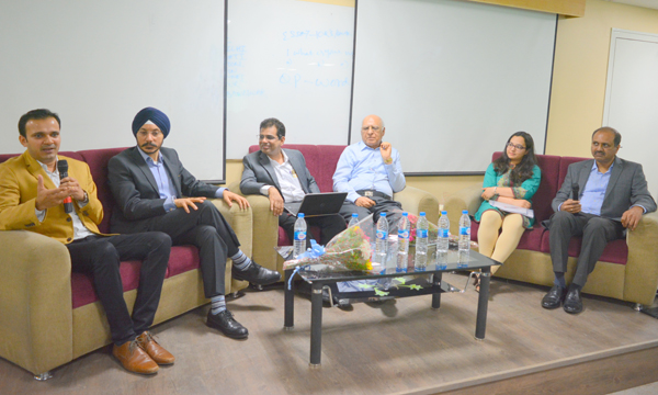 Panel Discussion on Union budget in Best PGDM College